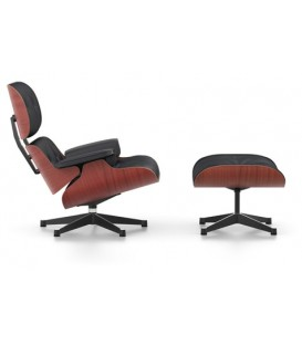 Lounge Chair & Ottoman. Chapa de Cerezo
