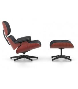 Lounge Chair & Ottoman. Chapa de Cerezo