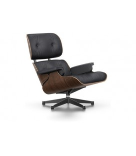 Lounge Chair. Nogal Pigmentado Negro