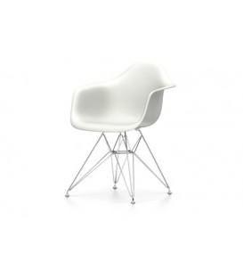 Eames Plastic Chair DAR. Base de hilo de acero con traviesas