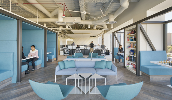 Trabajo colaborativo som soluciones mobiliarias for Bureau entreprise design