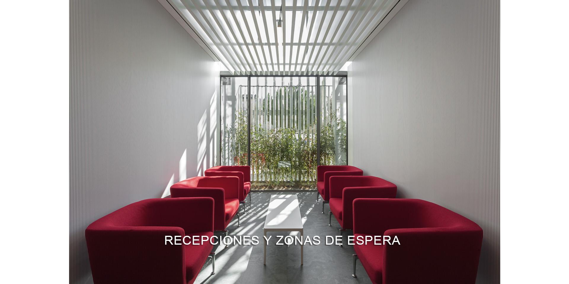 RECEPCIONES Y ZONAS DE ESPERA